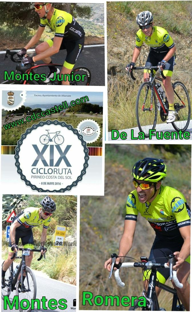 XIX Cicloruta Pirineo Costa Del Sol
